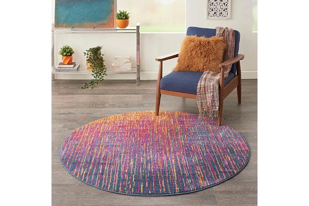 Nourison Passion 5 3 X Round, Ashley Furniture Round Area Rugs