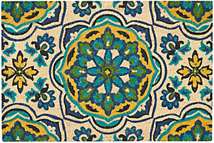"""Waverly Greetings 1'6"""" X 2'4"""" Rug, Bluebell, large"""