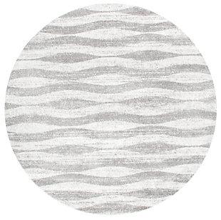 nuLOOM Tristan 5' x 5' Rug, Gray, large
