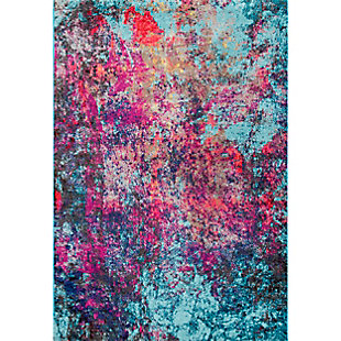 nuLOOM Reva Abstract 5' x 5' Rug, , large