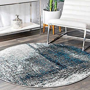 nuLOOM Noreen Abstract 5' x 5' Rug, , rollover