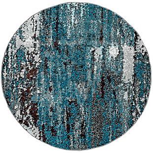 nuLOOM Abstract Haydee 5' x 5' Rug, , large