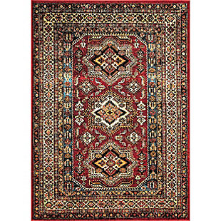nuLOOM Transitional Medieval Randy 5' x 5' Outdoor Rug, , large