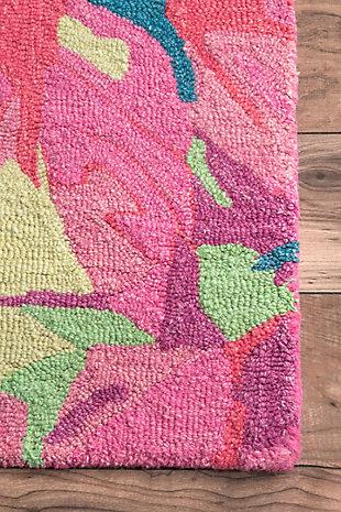 nuLOOM Handmade Gagnon 5' x 7' Rug, Multi, large