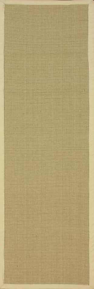 nuLOOM Machine Woven Laurel Jute 6' x 6' Rug, , large