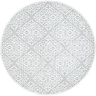 nuLOOM Contessa 5' x 5' Rug, Gray, large