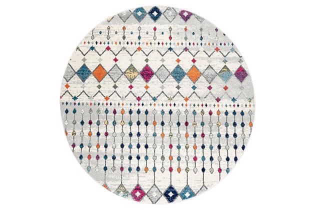 nuLOOM Moroccan Blythe 4' x 4' Rug, Multi, large