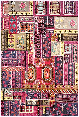 "Safavieh Monaco 5'1"" x 7'7"" Area Rug, Pink/Multi, large"