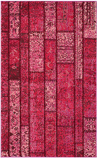"Safavieh Monaco 4' x 5'7"" Area Rug, Pink/Multi, large"