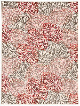 Linon Washable Marcie 5' x 7' Area Rug, Ivory, large