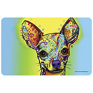 """Bungalow Flooring Dean Russo Designs Chihuahua 1'9"""" x 3' Mat, , large"""