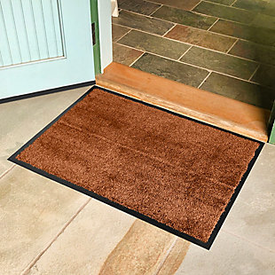 Bungalow Dirt Stopper Supreme 2' x 3' Mat, Golden Brown, rollover
