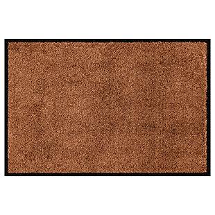 Bungalow Dirt Stopper Supreme 2' x 3' Mat, Golden Brown, large