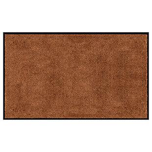 Bungalow Dirt Stopper Supreme 3' x 6' Mat, Golden Brown, large
