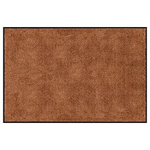 Bungalow Dirt Stopper Supreme 4' x 6' Mat, Golden Brown, large