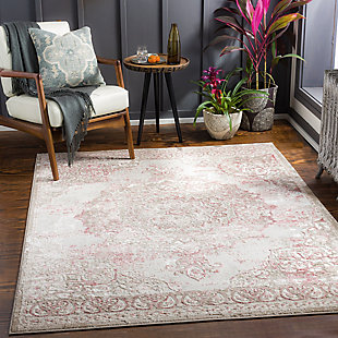 """Surya Enfield 7'10"""" x 10' Area Rug, Pale, rollover"""