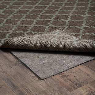 """Cascadia Home  Deluxe Grip 4'10"""" x 7'8"""" Rug Pad, Gray, rollover"""