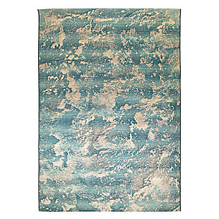 """Transocean Gorham Squall Outdoor 4'10"""" x 7'6"""" Area Rug, Blue, large"""