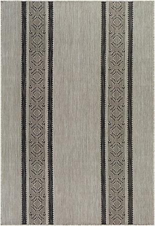 "Surya Malibu 5'3"" x 7' Area Rug, Medium Gray, large"