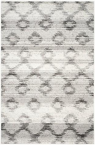 Safavieh Adirondack 6' x 9' Area Rug, Silver/Charcoal, rollover