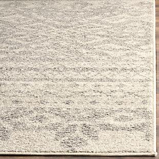 "Safavieh Adirondack 5' 1"" x 7' 6"" Area Rug, Ivory/Silver, large"