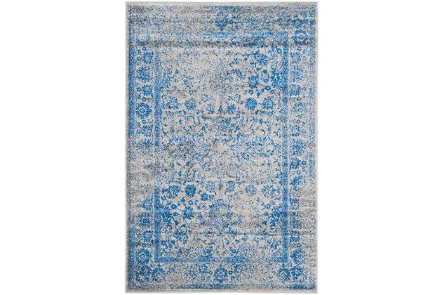Safavieh Adirondack 6' x 9' Area Rug, Gray/Blue, large