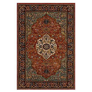 """Karastan Spice Market Petra 5'3"""" x 7'8"""" Area Rug, Spice, large"""