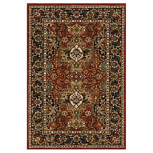 "Karastan Spice Market Dhahar 5'3"" x 7'8"" Area Rug, Garnet, large"