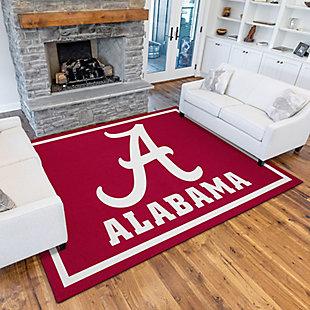 Addison Campus University of Alabama 5' x 7' Area Rug, Crimson, rollover