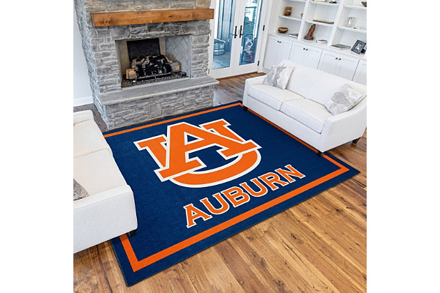 Addison Campus Auburn 5' x 7' Area Rug, Blue, large