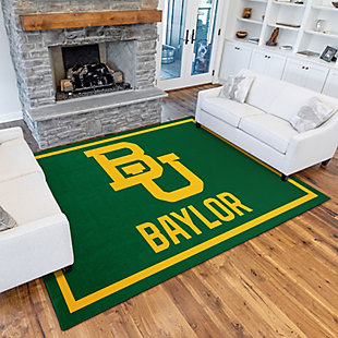 Addison Campus Baylor University 5' x 7' Area Rug, Green, rollover