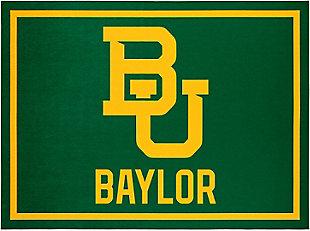Addison Campus Baylor University 5' x 7' Area Rug, Green, large
