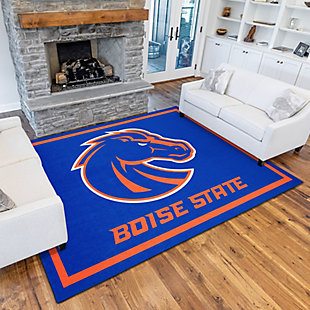 Addison Campus Boise State University 5' x 7' Area Rug, Blue, rollover