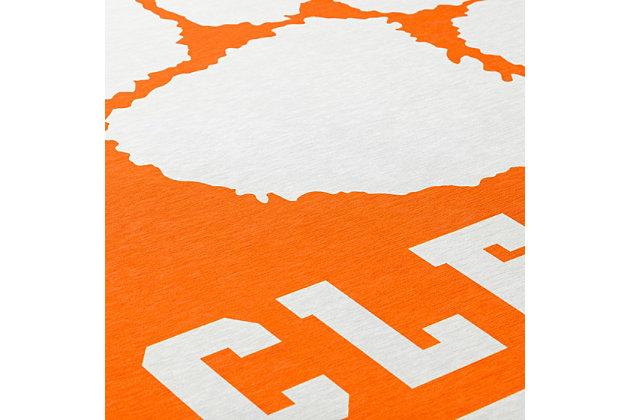 Addison Campus Clemson 5' x 7' Area Rug, Orange, large