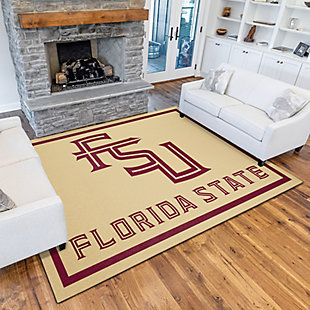 Addison Campus Florida State 5' x 7' Area Rug, Gold, rollover