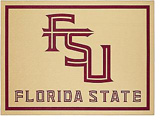 Addison Campus Florida State 5' x 7' Area Rug, Gold, large