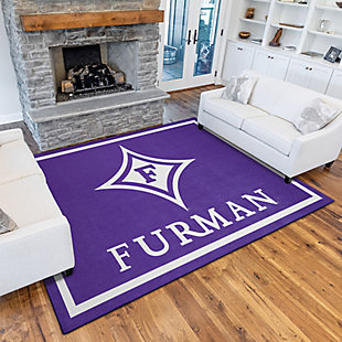 Addison Campus Furman 5' x 7' Area Rug, Purple, rollover