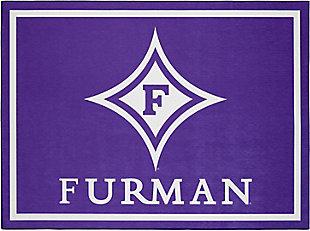 Addison Campus Furman 5' x 7' Area Rug, Purple, large