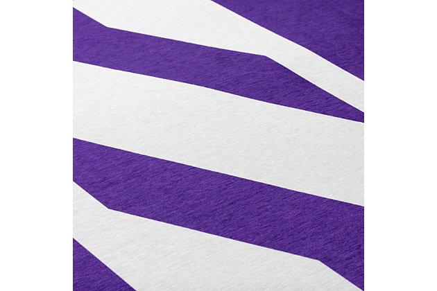 Addison Campus Northwestern University 5' x 7' Area Rug, Purple, large