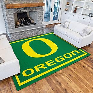 Addison Campus University of Oregon 5' x 7' Area Rug, Green, rollover