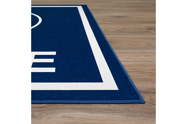 Addison Campus Penn State 5' x 7' Area Rug, Navy, large