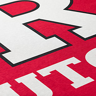 Addison Campus Rutgers 5' x 7' Area Rug, Red, large