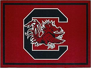 Addison Campus University of South Carolina 5' x 7' Area Rug, Black, large