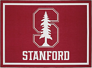 Addison Campus Stanford 5' x 7' Area Rug, Red, large