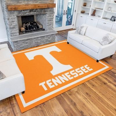 Addison Campus Tennessee 5' x 7' Area Rug, Orange, large
