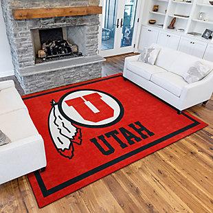 Addison Campus University of Utah 5' x 7' Area Rug, Red, rollover