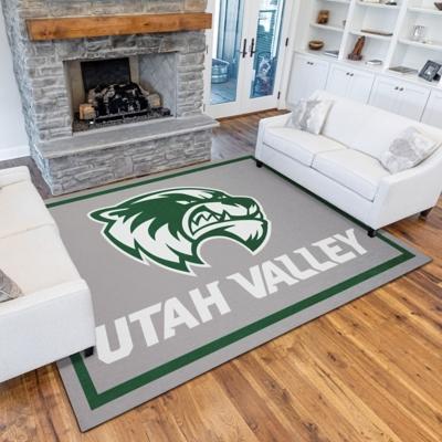 Addison Campus Utah Valley 5' x 7' Area Rug, Gray, large