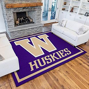 Addison Campus University of Washington 5' x 7' Area Rug, Purple, rollover