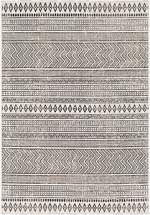 "Surya Eagean 5'3"" x 7'7"" Area Rug, Black/White, large"