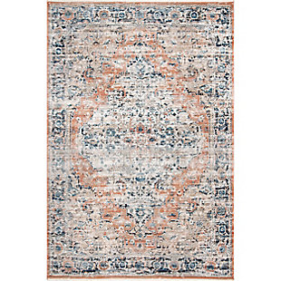 nuLOOM Piper Shaded Snowflakes 5' x 7' Area Rug, Beige, large